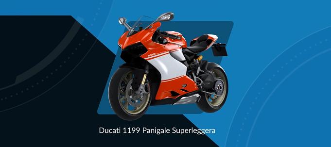 Ride Ducati 1199 Superleggera