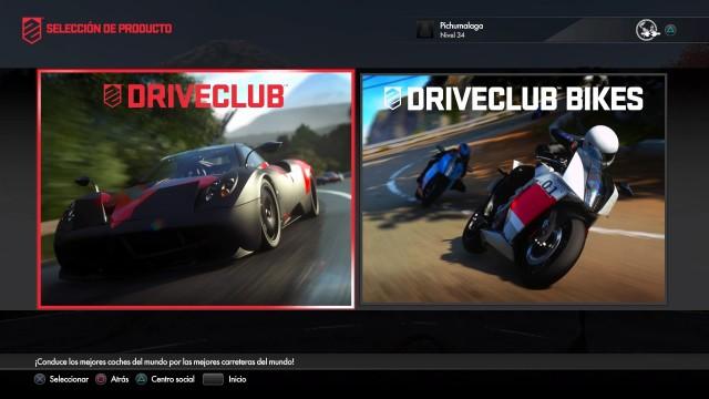 DriveClub aúna en un único juego motos y coches