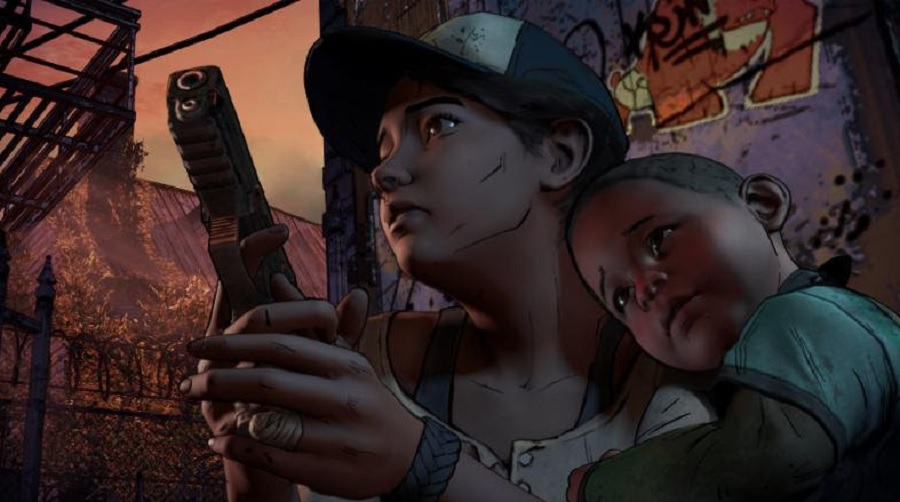 The Walking Dead seasson 3 a New Frontier clementine aj