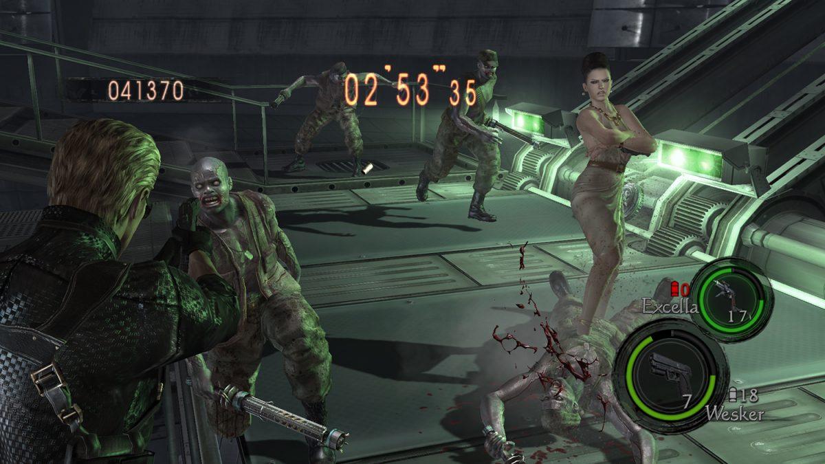 resident evil 5 ps4 gameplay