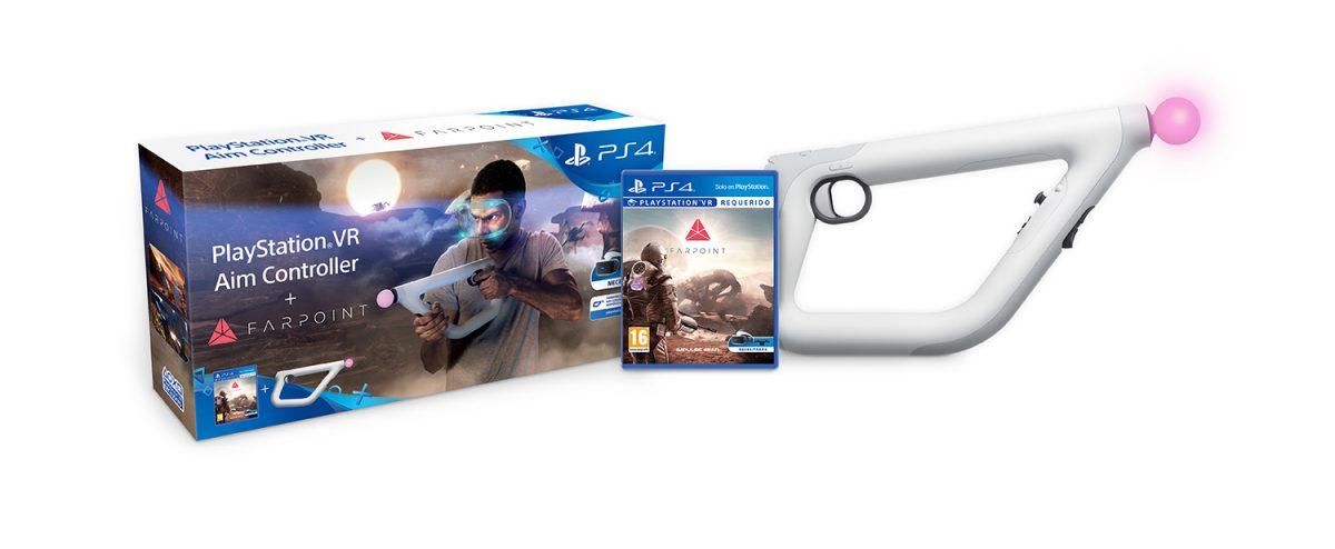 Bundle Farpoint + PS VR Aim Controller 2