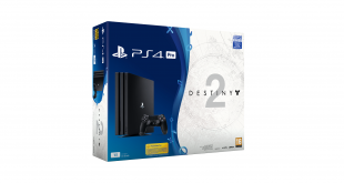 Playstation 4 Pro Negra Destiny 2