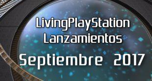 Livingps lanzamientos septiembre 2017