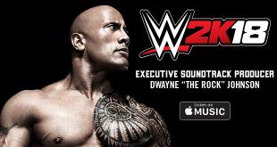 """La banda sonora del esperado WWE 2K18 corre a cargo de Dwayne """"The Rock"""" Johnson"""