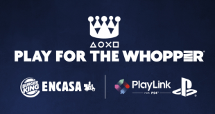 Burger King y PlayStation lanzan conjuntamente el reto Play for the Whopper