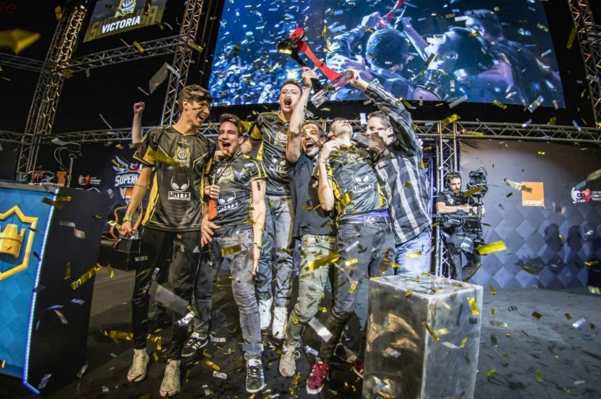 Gamergy 8 Superliga Orange Clash Royale Campeones