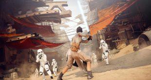 Star Wars Battlefront 2 Rey