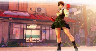 Street Fighter V Arcade Edition Sakura Key Art