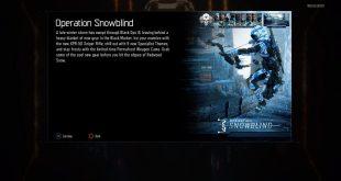 Call of Duty Black Ops III Operation Snowblind