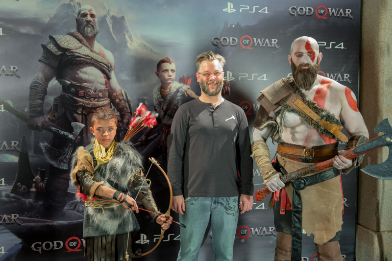 Presentación de God of War en Madrid