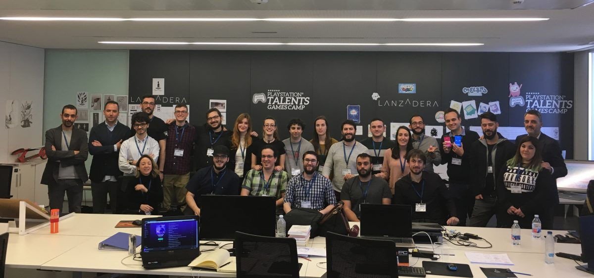 Playstation Talents Games Camp Valencia