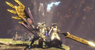 Monster Hunter World Kulve Taroth Elder Dragon Weapons