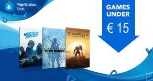 Arrancan nuevas ofertas en PlayStation Store con juegos por menos de 15 €