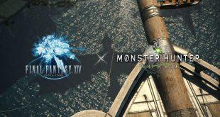 Final Fantasy XIV recibirá en agosto contenido inspirado en Monster Hunter: World