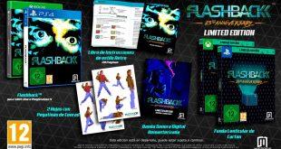 Flashback 25th Anniversary llegará a PS4 el 25 de octubre