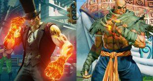 Street Fighter V Sagat y G