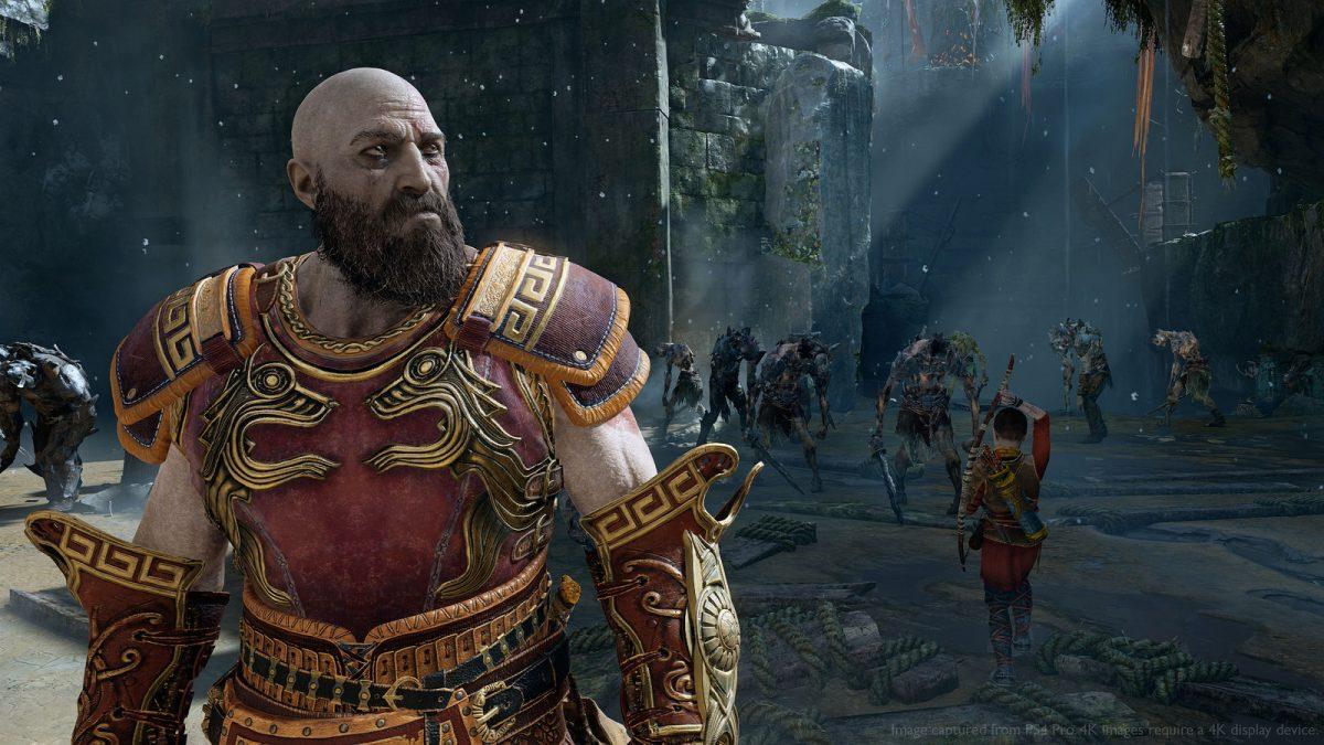 god of war nueva partida + armadura