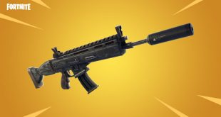 Fortnite Battle Royale fusil de asalto silenciado