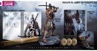 SEKIRO SHADOWS DIE TWICE Edición Coleccionista Exclusiva GAME
