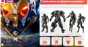 Anthem Edición Legión del Alba Exclusiva GAME