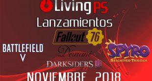LivingPS Miniatura Lanzamientos Noviembre 2018_01
