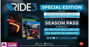 Esta es la Special Edition exclusiva de GAME de Ride 3