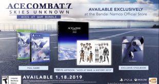 Ace Combat 7: Skies Unknow presenta nueva edición especial