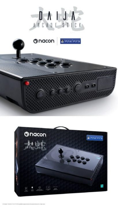 Nacon Daija ARcade Stick Playstation 4 Playstation 3 01