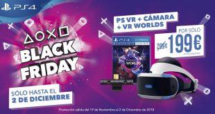 PlayStation publica nuevas ofertas por el Black Friday