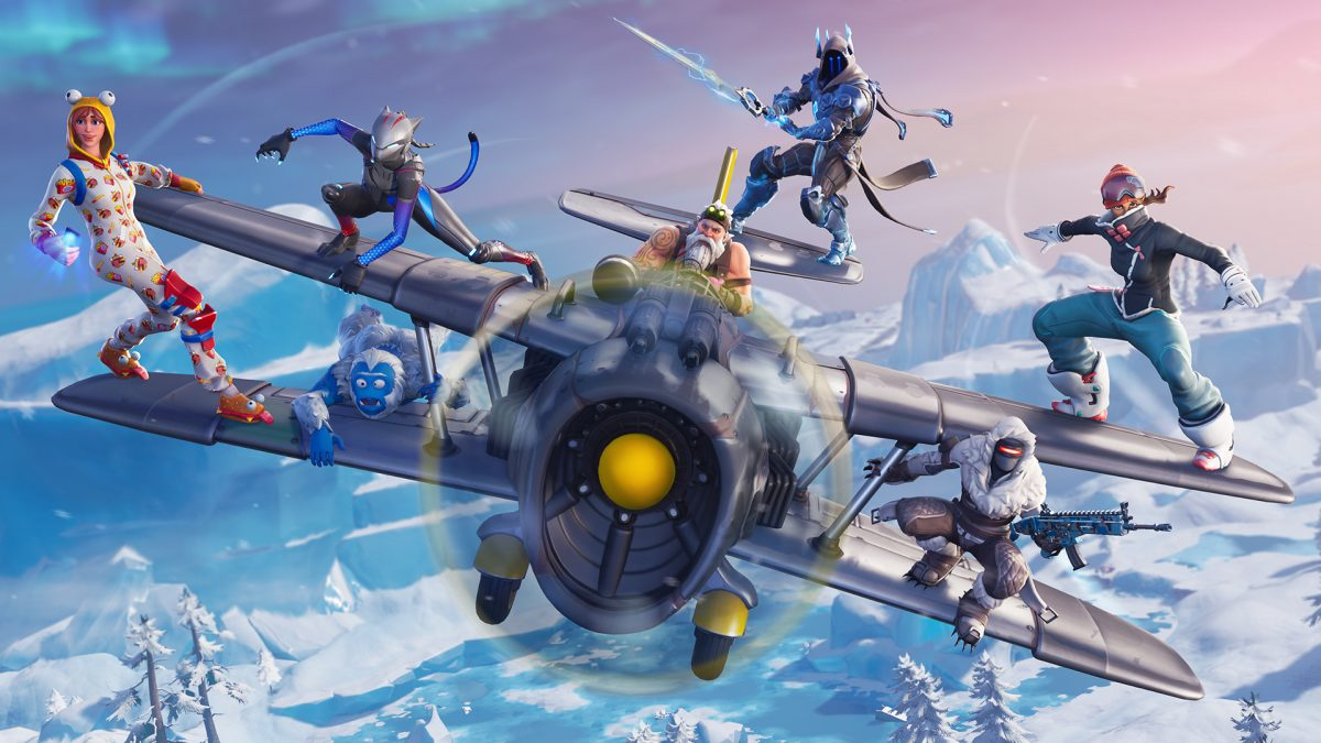 Fortnite Battle Royale 7 00 avioneta x 04 splashart