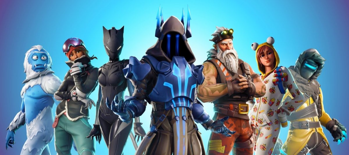 Fortnite Battle Royale 7 00 personajes