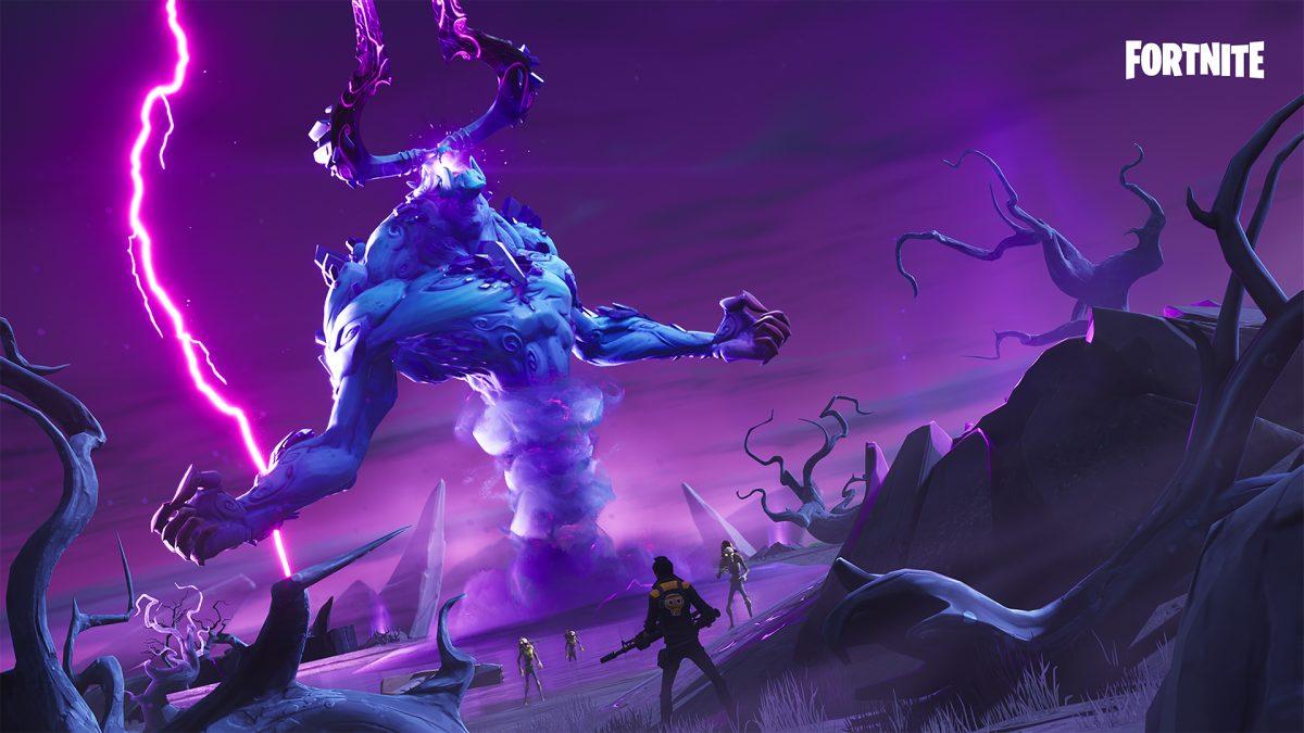 Fortnite Salvar el Mundo Señor de las Tormentas