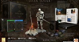 La definitiva Edición Coleccionista Dark Souls Trilogy llega hoy a las tiendas