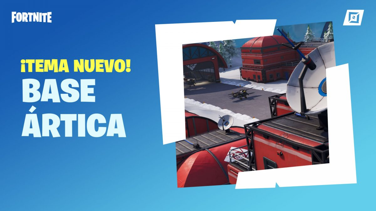 Fortnite 7 30 Modo Creativo prefabricado base ártica