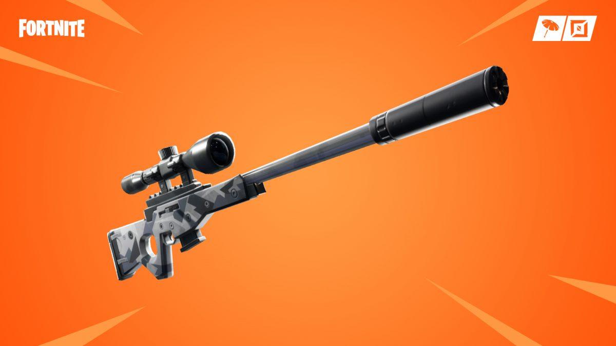 Fortnite Battle Royale Actualización de contenido 3 7_10 Sniper Silencioso