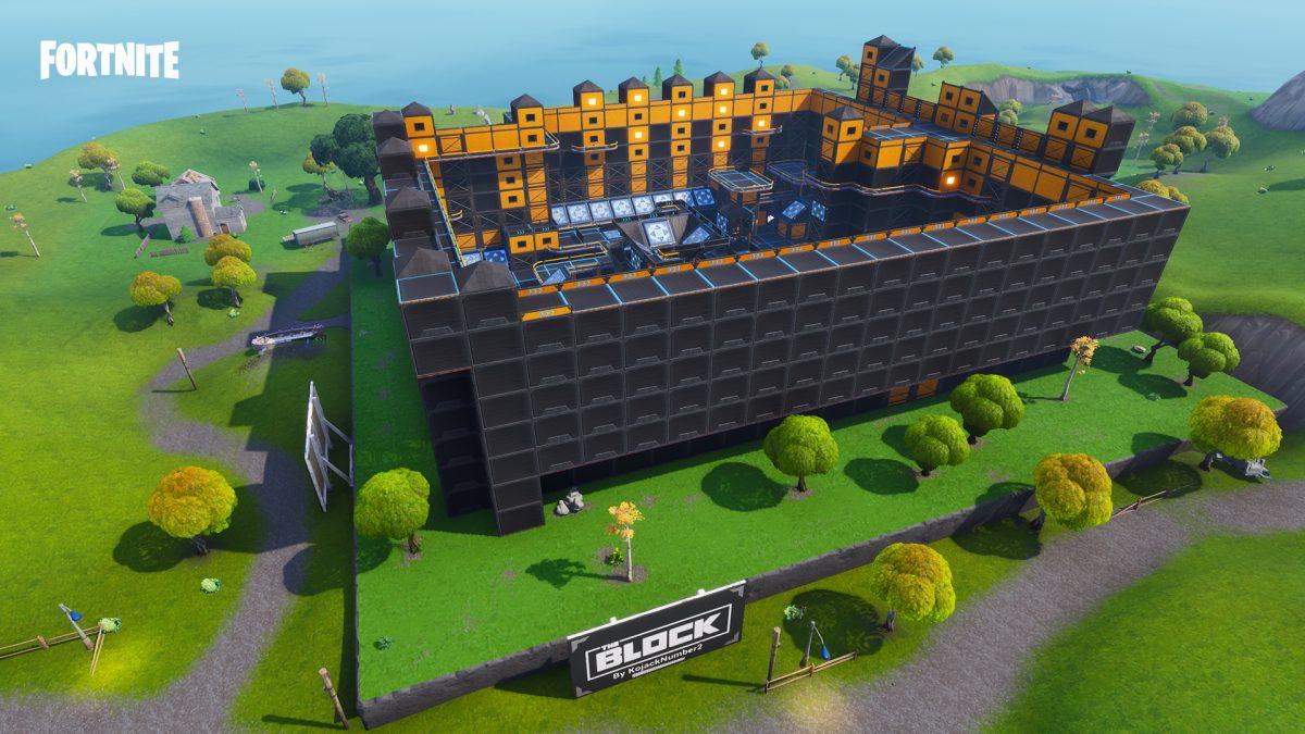 Fortnite Battle Royale Actualización de contenido 3 7_10 el bloque DM Arena