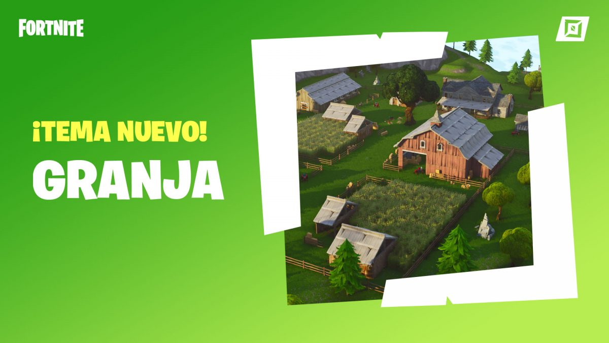 Fortnite Modo creativo granja