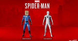 Marvel's Spider-Man 4 fantásticos trajes