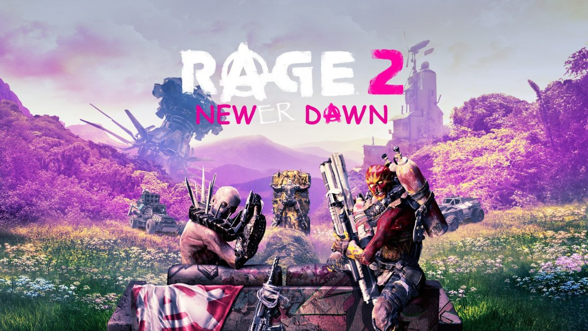 Rage 2 Twitter Teaser crossover far cry new dawn