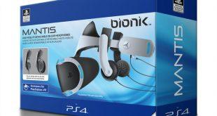 Bionik presenta nuevos auriculares Mantis para PSVR con licencia oficial