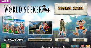 GAME detalla los incentivos de reserva de One Piece World Seeker