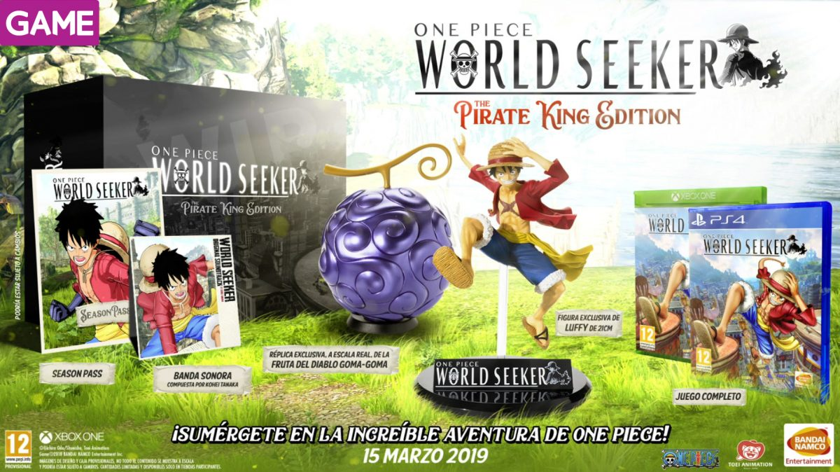 ONE PIECE WORLD SEEKER - Edición Coleccionista en GAME