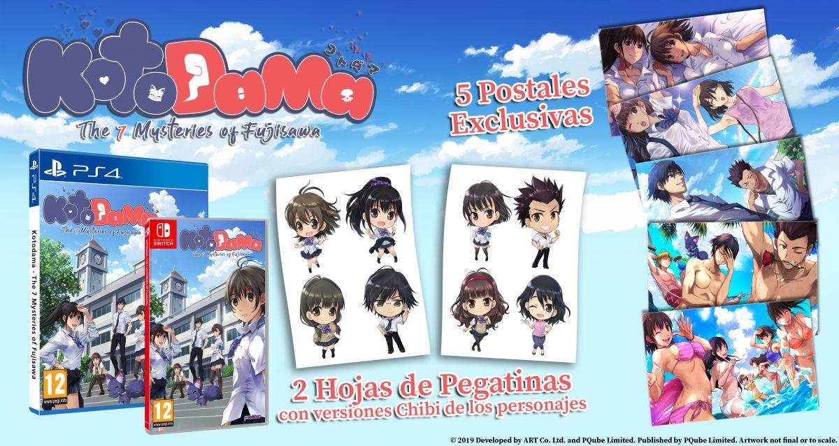 Kotodama The 7 Mysteries of Fujisawa juegos