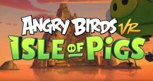 Angry Birds VR: Isle of Pigs recibe nuevos niveles en PS4