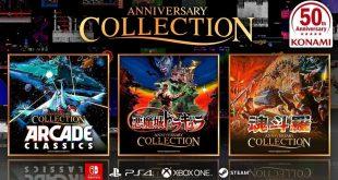 Konami anuncia colecciones de juegos clásicos por su 50 aniversario