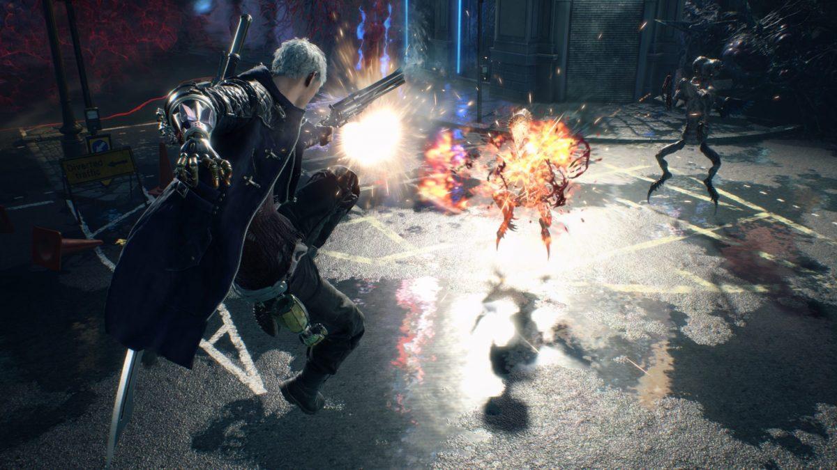 Devil May Cry V Nero Combat 02