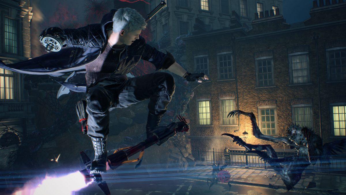 Devil May Cry V Nero Combat 05