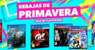 Ofertas de Primavera en juegos físicos para PS4
