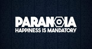 Paranoia Happiness is mandatory main theme