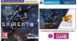 GAME desvela el contenido de la Legendary Lockbox de Sairento VR